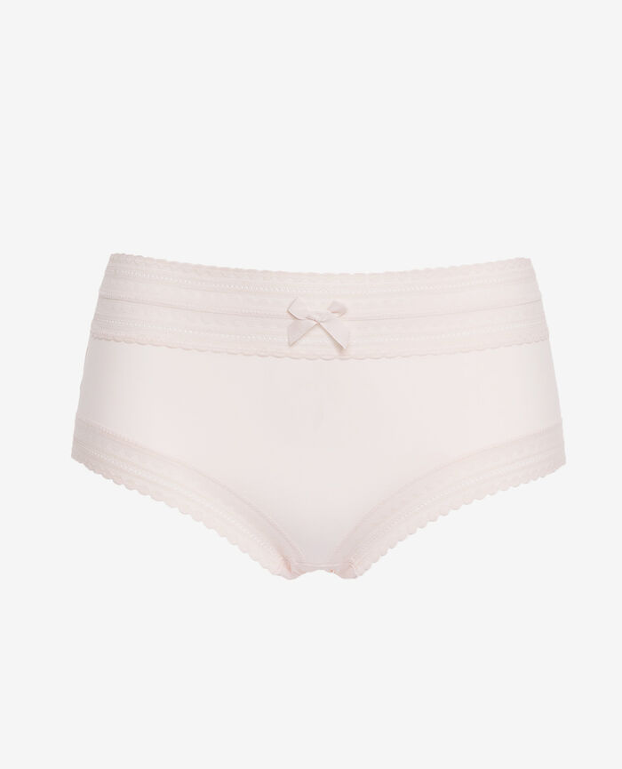 Culotte taille haute Blanc rosé Beaute