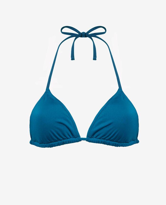 Soutien-gorge de bain triangle mousses Bleu éole Mix & match
