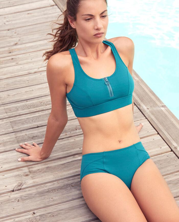 Soft sports swimsuit Mezcal green Aqua