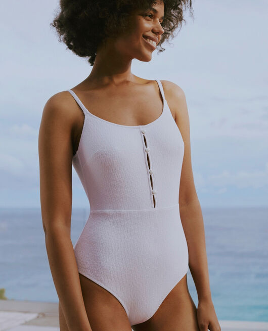 Swimsuit White Allure