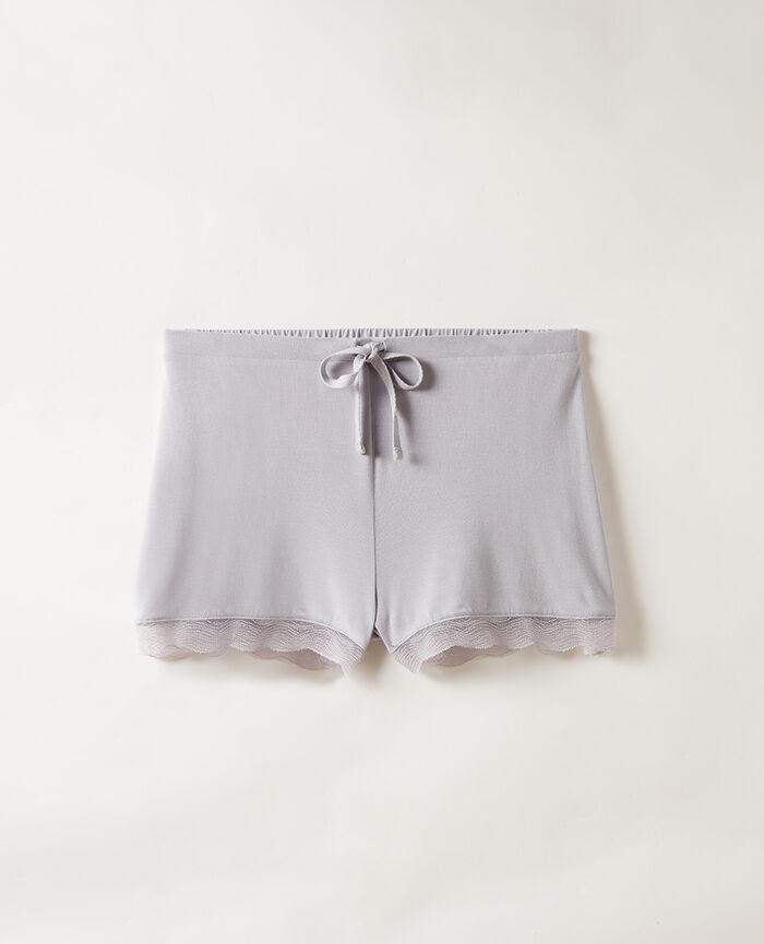 Pyjama shorts Pearl grey Douceur