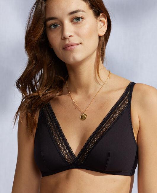 Soft cup bra Black Eclat