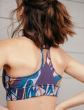 Sports bra medium support Apo blue Run