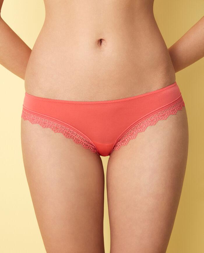 Culotte taille basse Corail Air lingerie