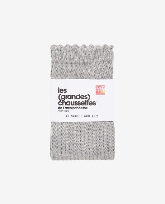 Leg warmers Flecked grey Infinity