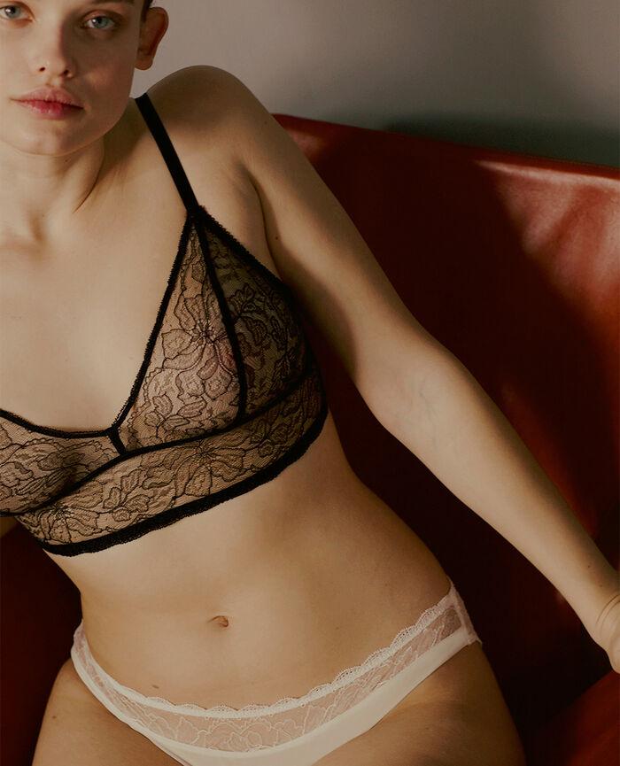 Soft cup bra Black Prestige