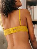 Soft cup bra Absinthe yellow Chic