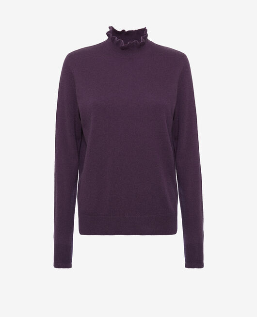 Funnel neck jumper Cabaret blue Icone