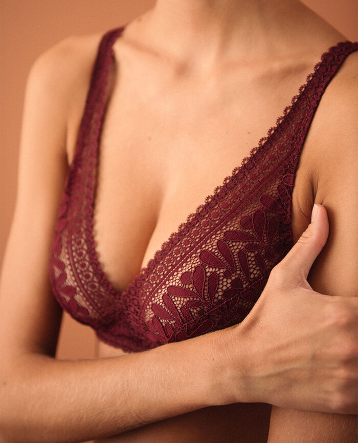 Wireless bra Cassis red Evidence - the feel good
