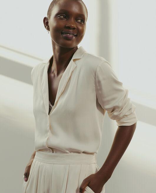 Veste de pyjama Blanc rosé Attitude
