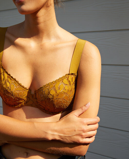Half-cup bra Cocktail brown Oisive
