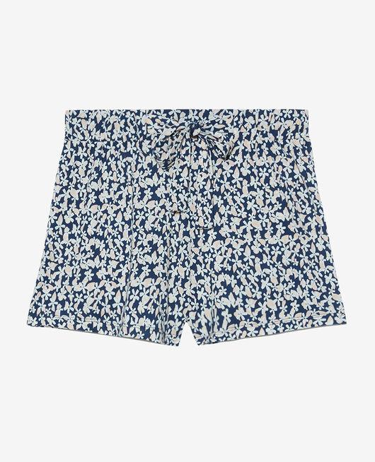 Pyjama shorts Navy daisy Tamtam shaker