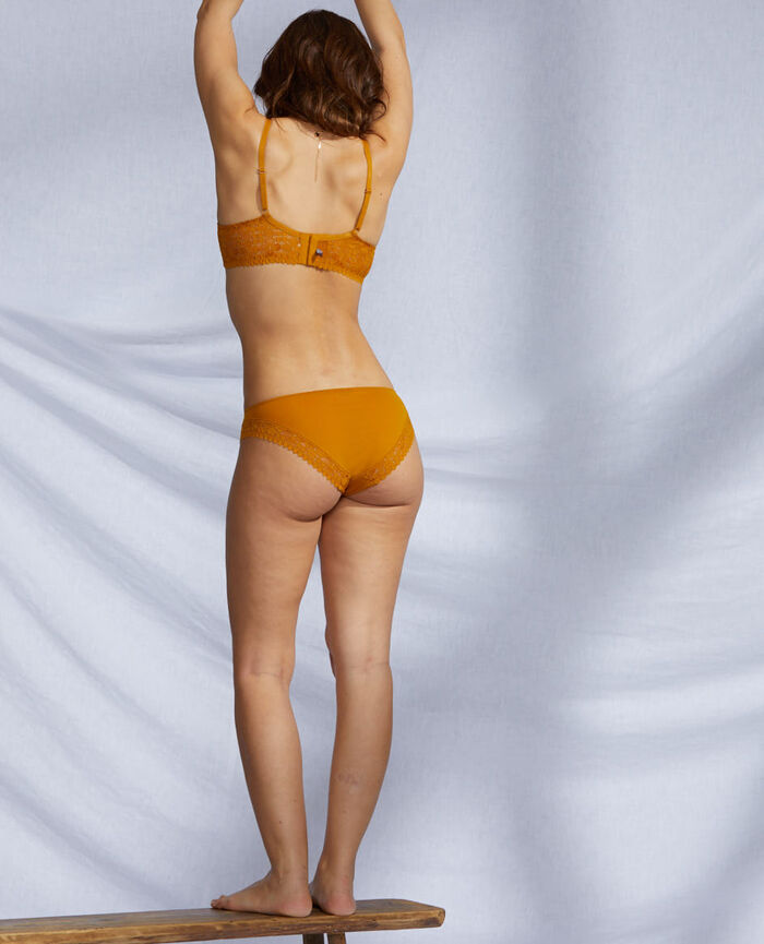 Hipster briefs Cumin yellow Josephine