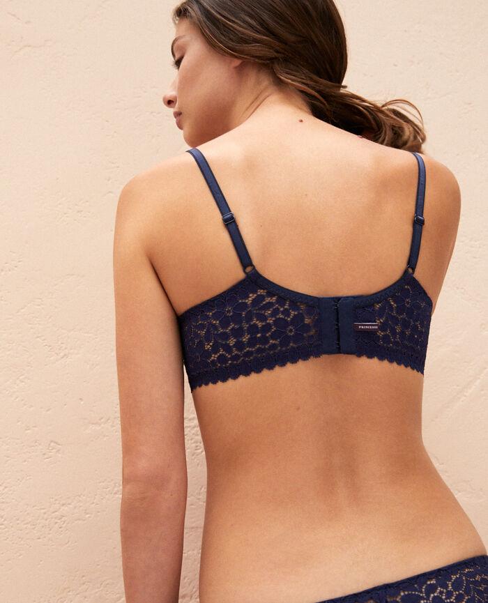 Soutien-gorge avec armatures Bleu marine Monica