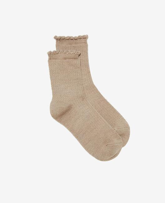 Socks Flecked beige Ballet