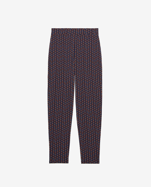 Pantalon carotte Royal ginger bread Paresse print