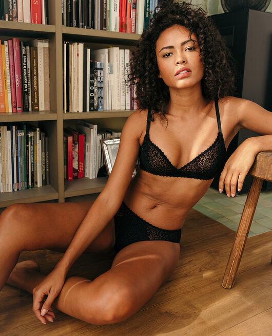 Soft cup bra Black Velvet