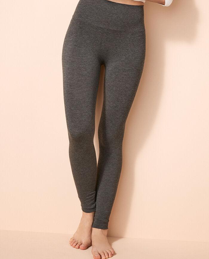 Leggings Flecked grey Fit