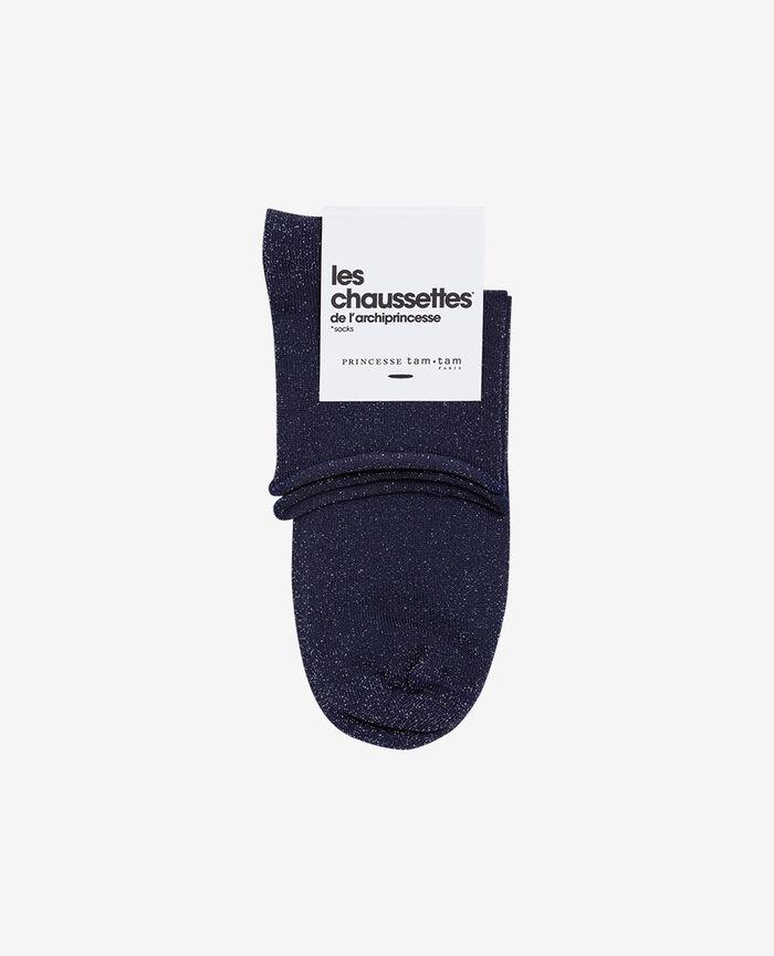 Socks Denim blue Pearl