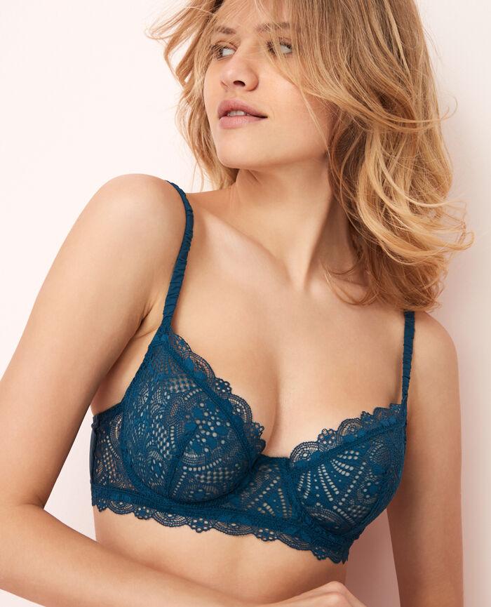 Bustier bra Sombrero blue Love