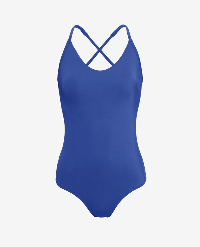 Swimsuit Mascara blue Princesse tam.tam x uniqlo