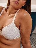 Half-cup bra spacer Rose white Birdy
