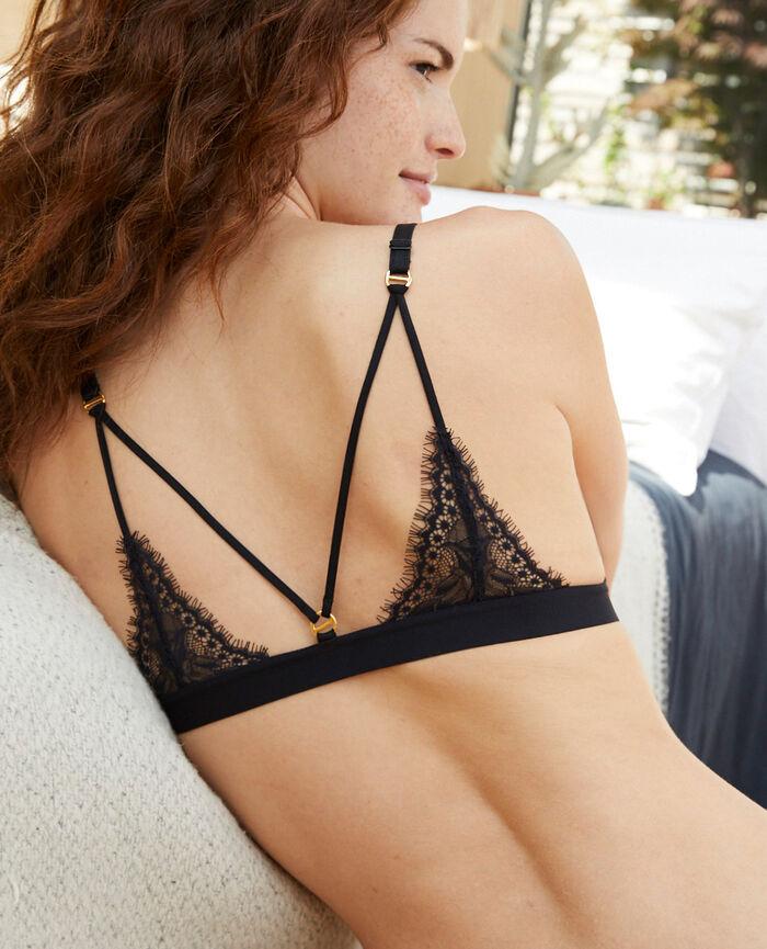 Soft cup bra Black Nuit