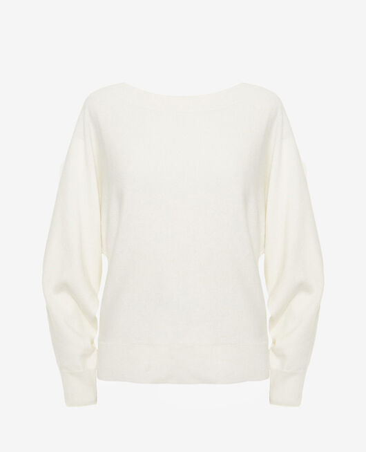 Pull col bateau Ivoire Icone