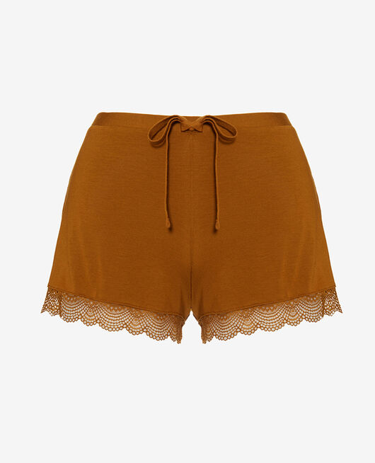 Short de pyjama Brun cocktail Reverie