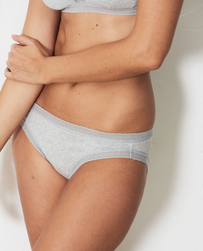 Hipster briefs Flecked grey Echo