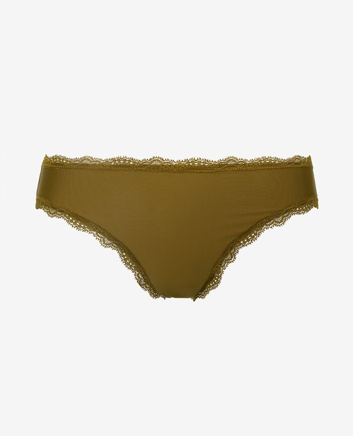 Hipster brief Green bowie Take away