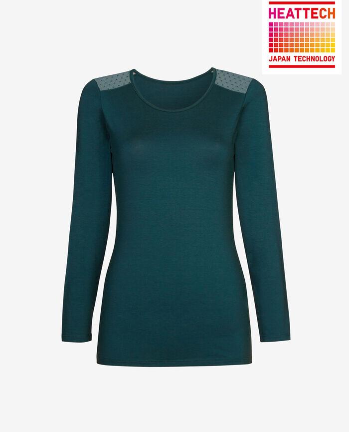 T-shirt manches longues Vert nuit Innerwear