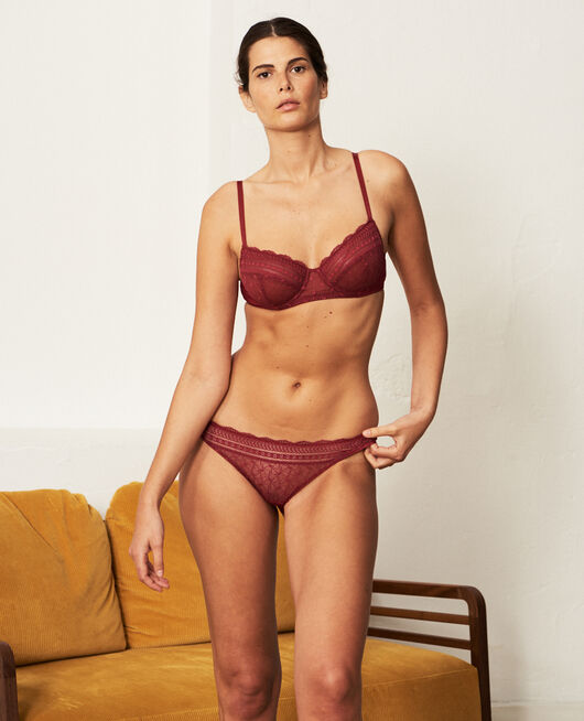 Underwired bra Ruby red Duo