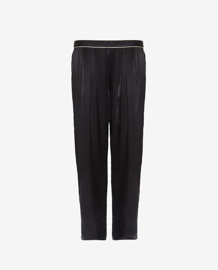 Pyjama trousers Black Subtil