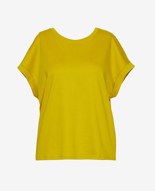 T-shirt manches courtes Vert anis Supima