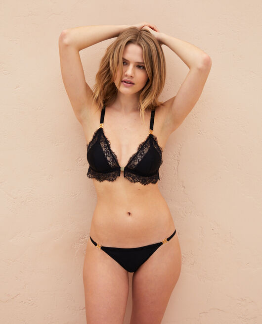 Soft cup bra Black Habibi
