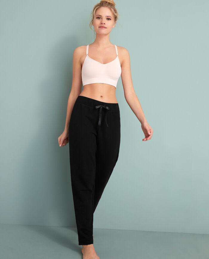 Pantalon sporty Noir Moove