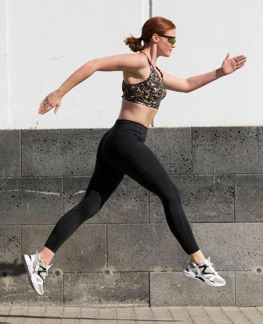 Legging de running galbant long Noir Run