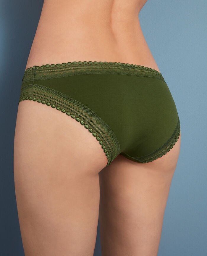 Hipster briefs Agency green Beaute