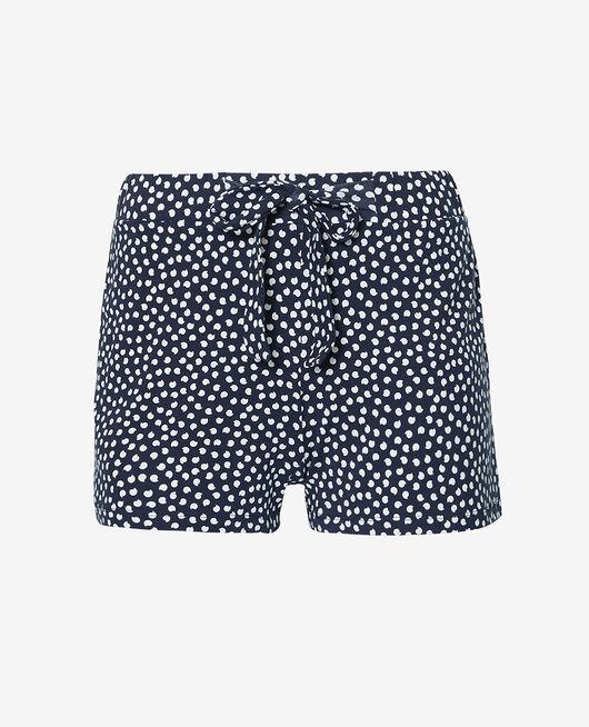 Short de pyjama Pois marine Echo