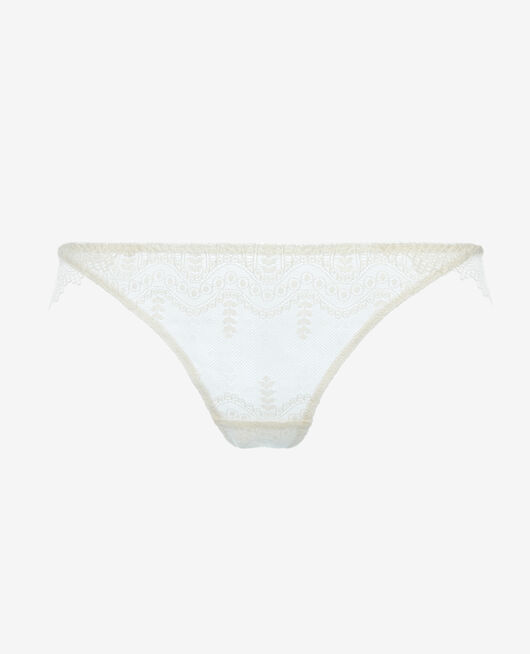Culotte taille basse Ivoire Amour