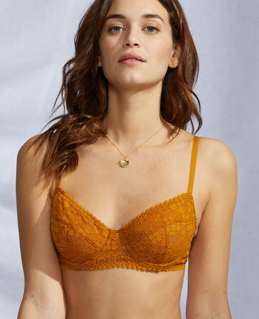Underwired bra Cumin yellow Josephine