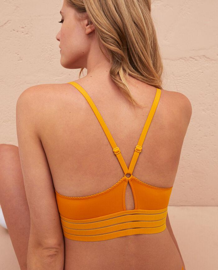 Soft cup bra Sahara yellow Air lingerie