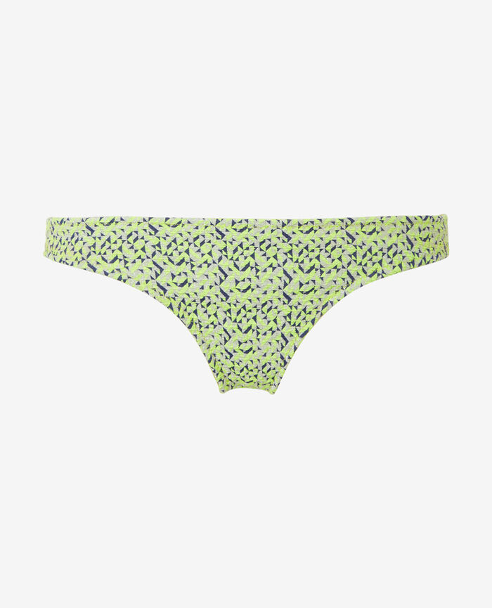 High-cut bikini briefs Anisette yellow Stellar