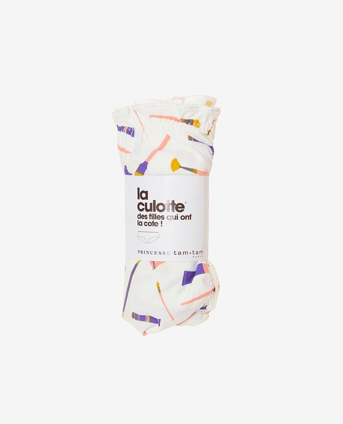 Culotte fantaisie Multicolore Take away