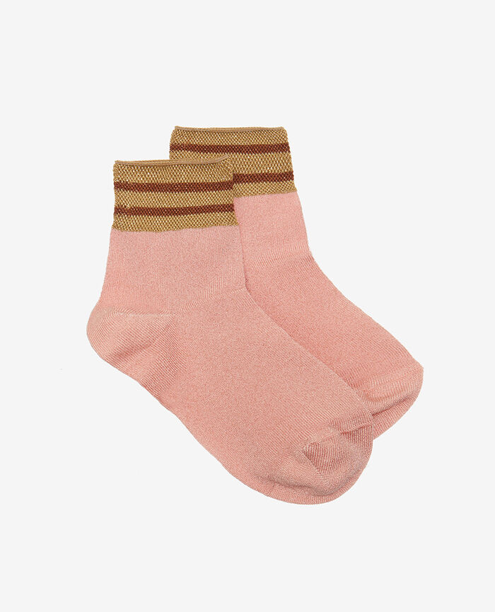 Chaussettes Old rose Calzino