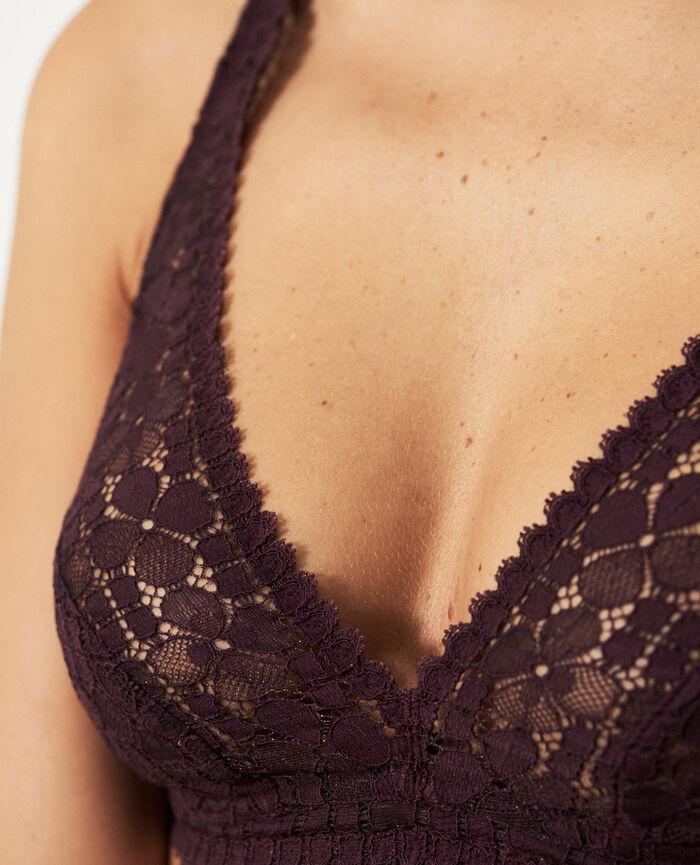Soft cup bra Plum Josephine