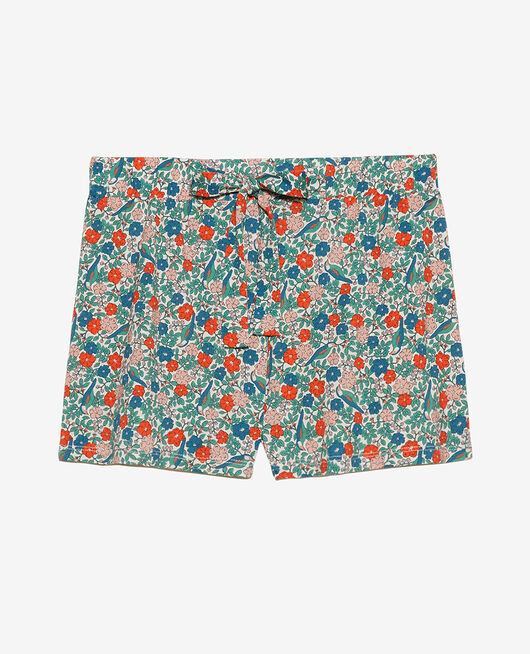 Pyjama shorts Powder beige liberty Tamtam shaker