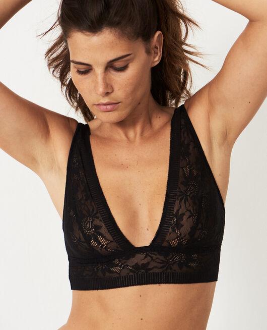 Soft bustier bra Black Audacieusement