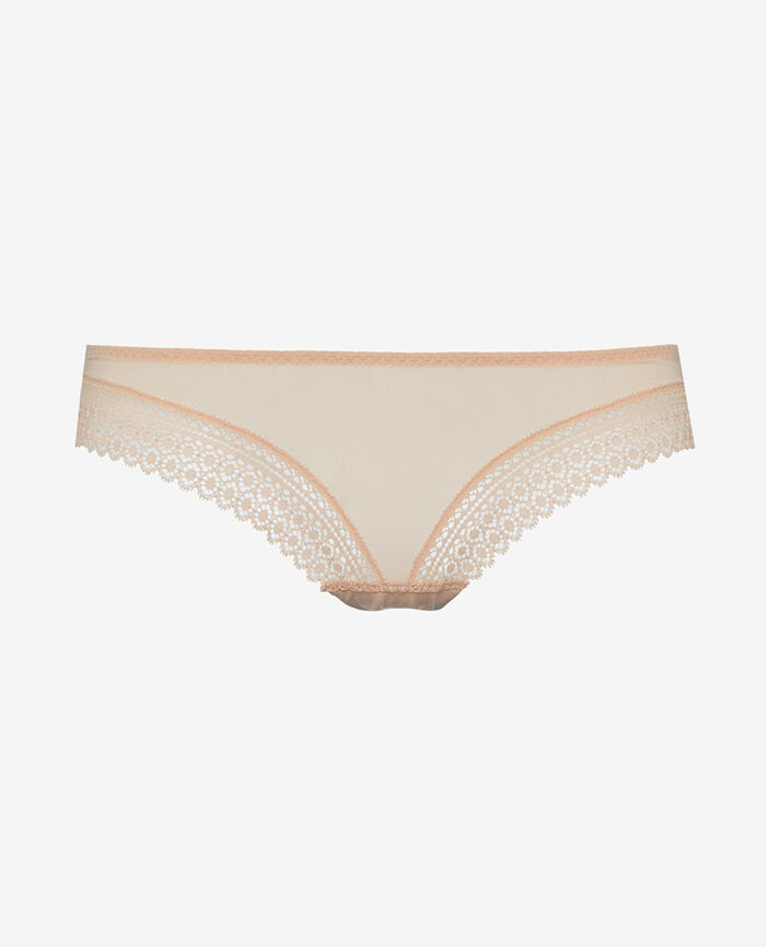 Culotte taille basse Beige poudre Evidence